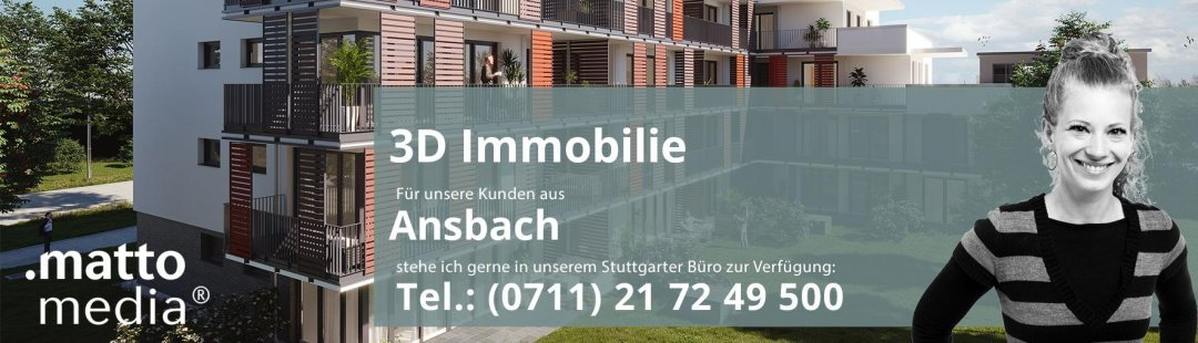 Ansbach: 3D Immobilie