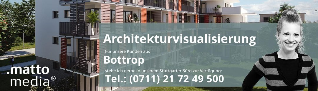 Bottrop: Architekturvisualisierung