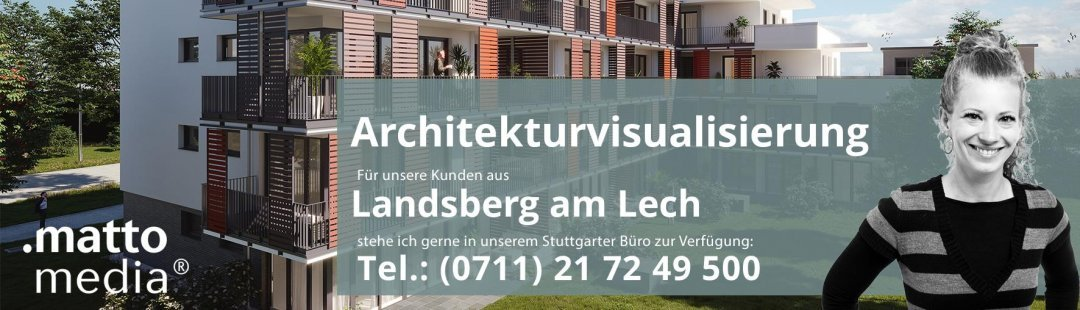 Landsberg am Lech: Architekturvisualisierung