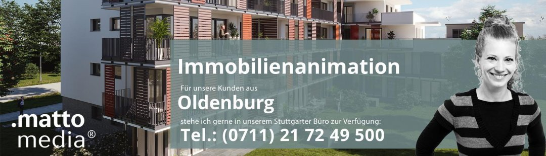 Oldenburg: Immobilienanimation