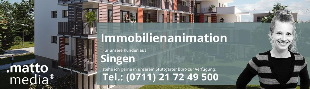 Singen: Immobilienanimation