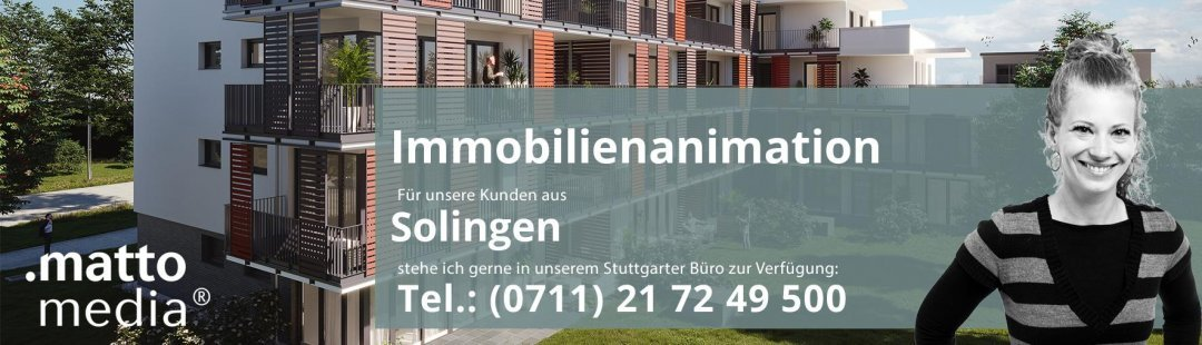 Solingen: Immobilienanimation