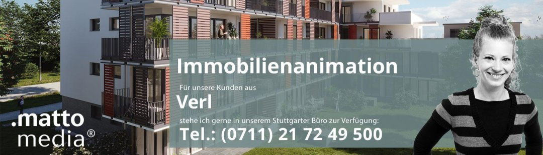 Verl: Immobilienanimation