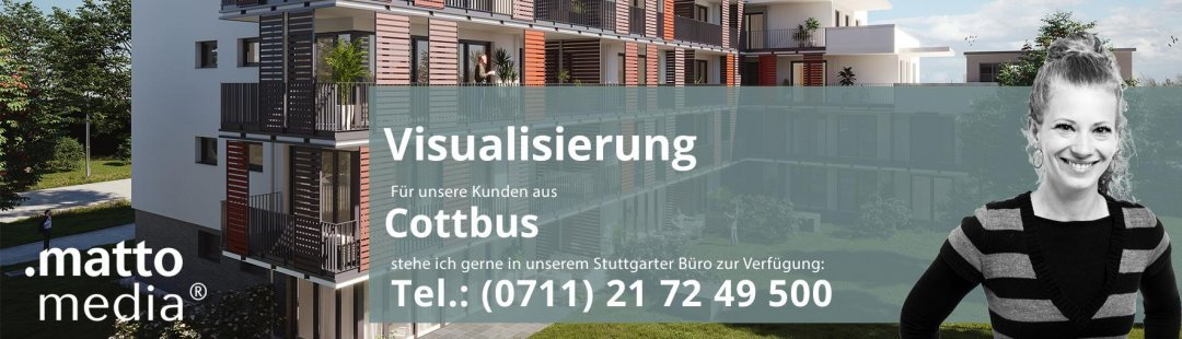 Cottbus: Visualisierung