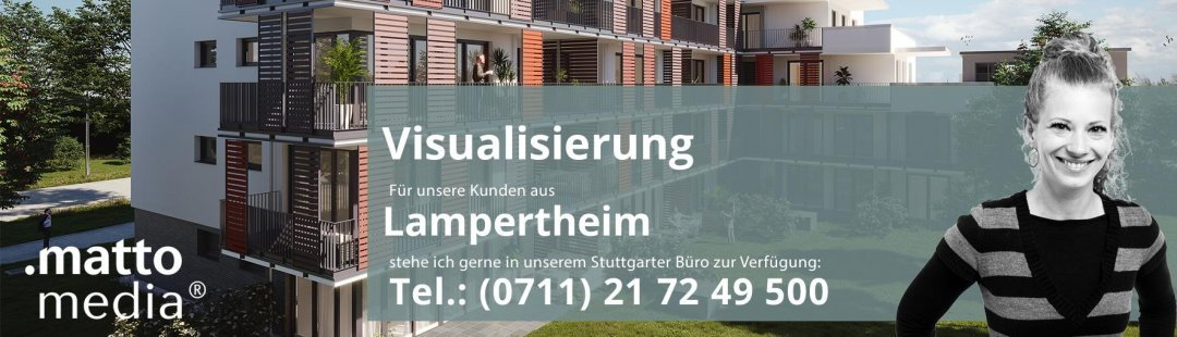 Lampertheim: Visualisierung